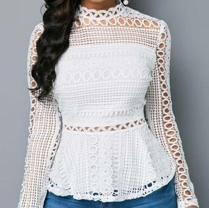 Tops - 🌹 Brand new white dressy top